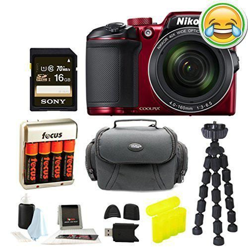 #70off The #Nikon COOLPIX B500 Digital Camera (Black) is an ergonomic point and shoot camera packed full of powerful features. It has a super telephoto lens made...