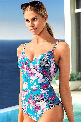 Fashion Sale - Expozay Cross Front Swimsuit - EziBuy New Zealand