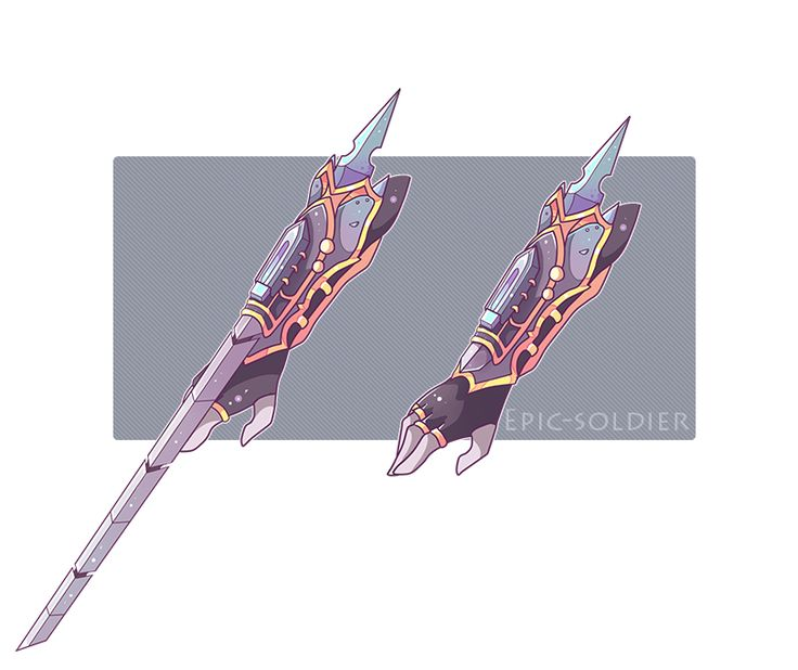 Weapon commission by Epic-Soldier.deviantart.com on @DeviantArt