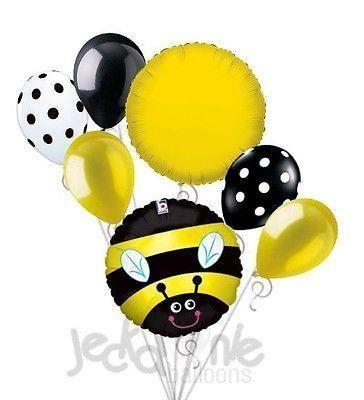 Goedkope 7 st Gelukkig Buzzy Bee Ballon Boeket Partij Decoratie Gelukkige Verjaardag Baby Douche, koop Kwaliteit Event& party benodigdheden rechtstreeks van Leveranciers van China: verzendkosten1. alle bestellingen te verzenden binnen 1 werkdag na betaling bevestigd.      2. we vrij schip via c