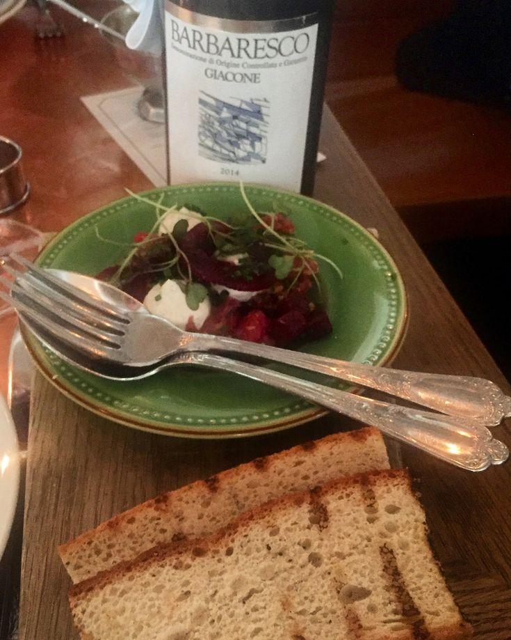 Tartar and beetroot at restaurant Boulevard Social