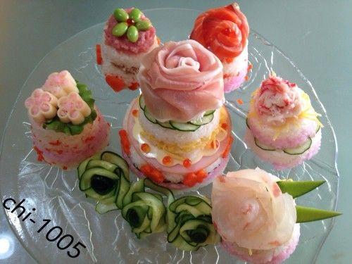 Sushi Cake ♡ For Hina Matsuri, Birthdays, Parties, or Celebrations! ♪♪♪