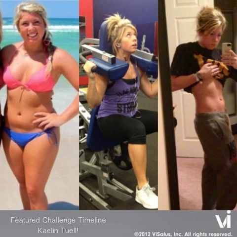 Congratulations to Kaelin Tuell- amazing results!  You can do it too!!