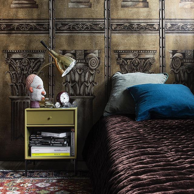 DREAM — versatile nightstand or side table. Choose it in 42 colours. Colour: Boulevard. #montanafurniture #danishdesign #dream #nightstand #sidetable #homedecor #bedroomdecor #bedroomdesign #wohninspirationen #wohninspiration #zuhause #designdanois #chamb