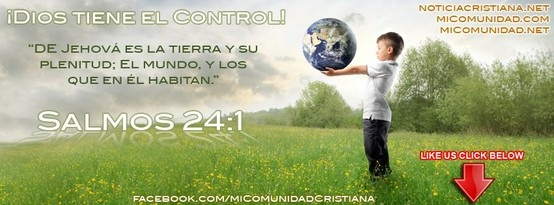 Salmos 24:1 Reina-Valera 1960 (RVR1960) El rey de gloria Salmo de David. De Jehová es la tierra y su plenitud;     El mundo, y los que en él habitan.