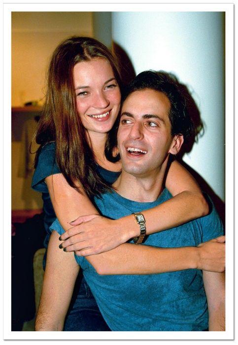 Kate Moss & Marc Jacobs, 1998.