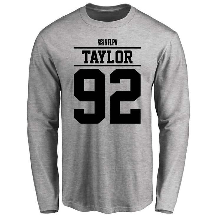 Devin Taylor Player Issued Long Sleeve T-Shirt - Ash