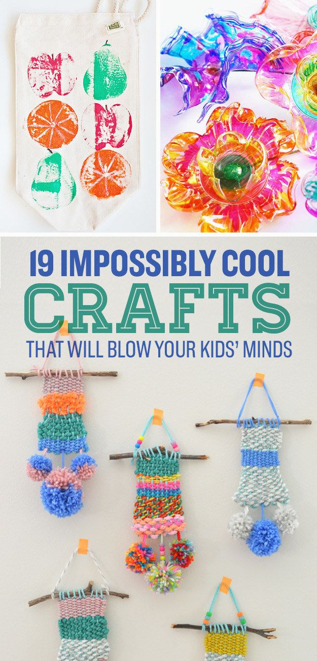 19 Impossibly Cool Crafts That Will Blow Your Kids' Minds