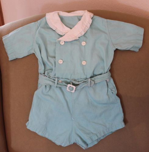 Детская одежда для куклы 2 шт синий лен хлопок нежный малыш винтажный старинный in Одежда, обувь и аксессуары, Винтаж, Винтажная одежда для детей, До 1930 г. (Викторианская эпоха, 20-е гг.) | eBay
