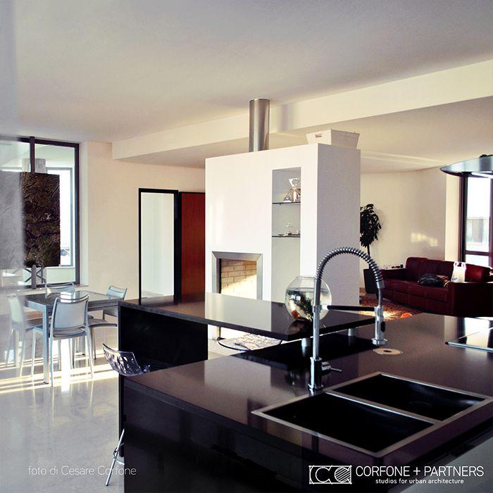 CORFONE+PARTNERS - Interior design Kitchen - M09 HOUSE