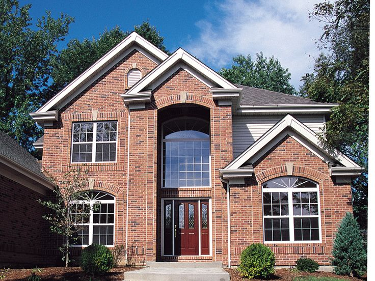 23 best beautiful homes in west suburban chicagoland for Traditional brick homes