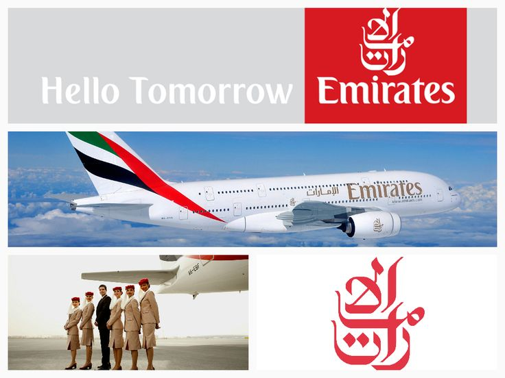 """Emirates is one of two flag carriers of the United Arab Emirates along with Etihad Airways and is based in Dubai. The airline is a subsidiary of The Emirates Group, which is wholly owned by the government of Dubai's Investment Corporation of Dubai.   A brand geared for the future:   Emirates - """"Whether it's your first flight or simply your latest, we work to anticipate your every need.""""  Check out their website: http://www.emirates.com"""