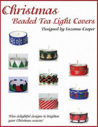 CHRISTMAS TEA LIGHT COVERS BEADWORK E-BOOK