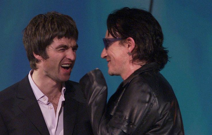 Noel Gallagher and Bono got very, very drunk together on tour