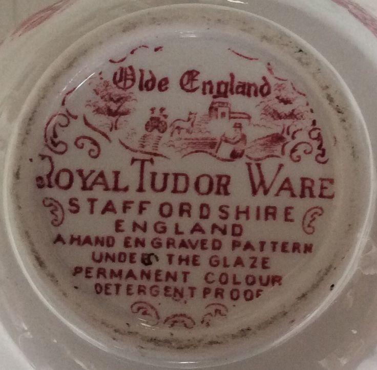 Royal Tudor Ware Staffordshire - Olde England