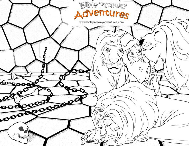 printable coloring pages daniel and the lions den 116 best hebrew lessons and activities - Bible Story Coloring Pages Daniel