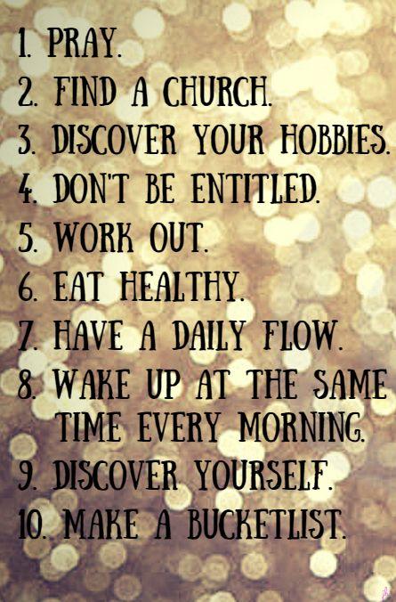 Finding happiness in your twenties.