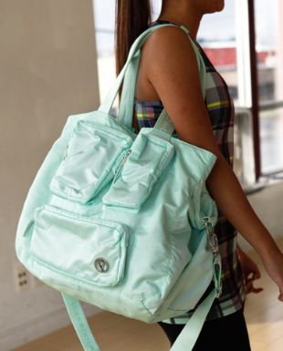 love the new Dance To The Beat Bag from ivviva and www.lunchpailsandlipstick.com
