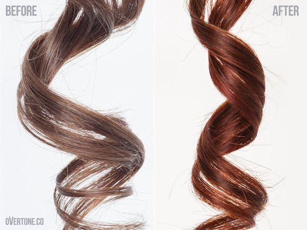 Go Deep - Vibrant Orange Weekly Treatment   Overtone Haircare