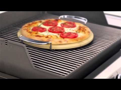 Gourmet BBQ System- Pizza stone- perfect for all of your grilled pizzas!