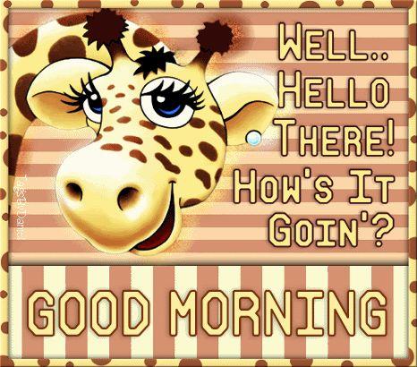 Godmorgen.