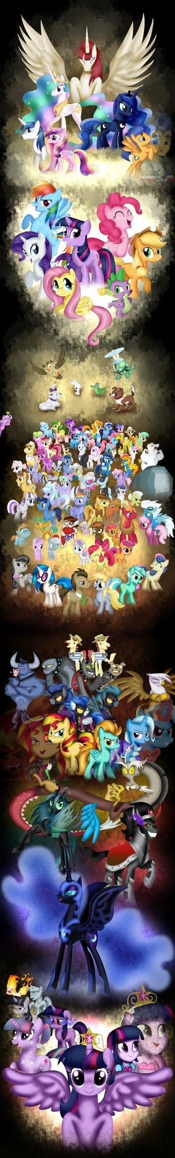 My Little Pony: Friendship is Magic by Rux--Xan Wow, just wow. This is amazing!