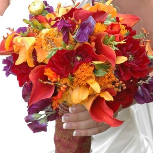 32 Best Images About Purple Wedding Flowers On Pinterest