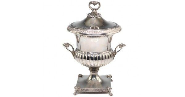 Bomboniera neoclasica din argint - Italia