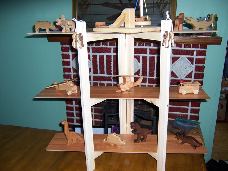 Make your own folding shelves for craft show displays for How to build a display shelf
