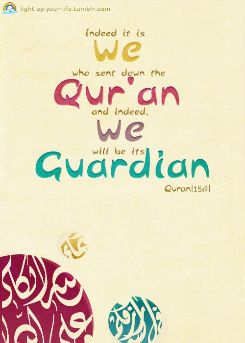 light-up-your-life:   Islam is the only Religion which has not been distorted or changed.
