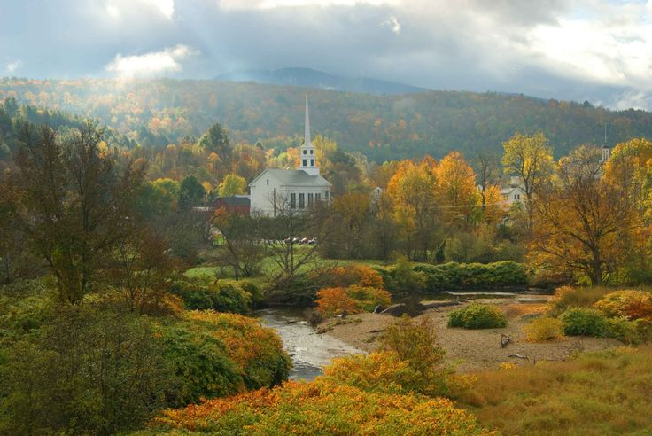 Stowe, Vermont is perfect for those seeking a taste of Europe on the East Coast.