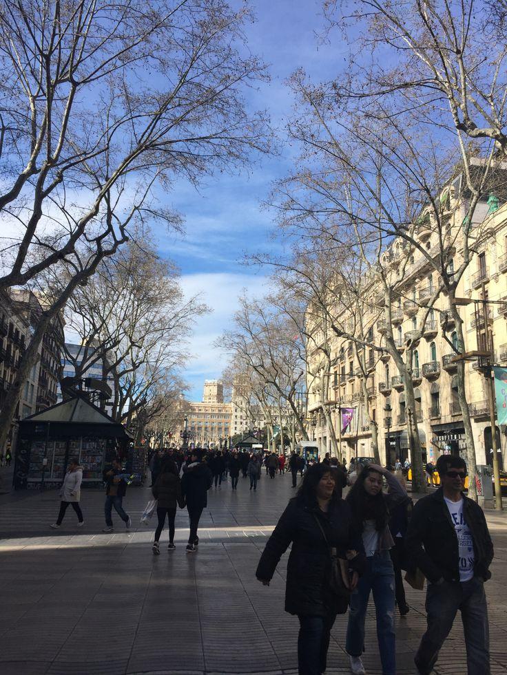 Las Ramblas, Barcelona www.weareinfinite.blog  #Barcelona #España #Europa #Travel #Viajes #blog