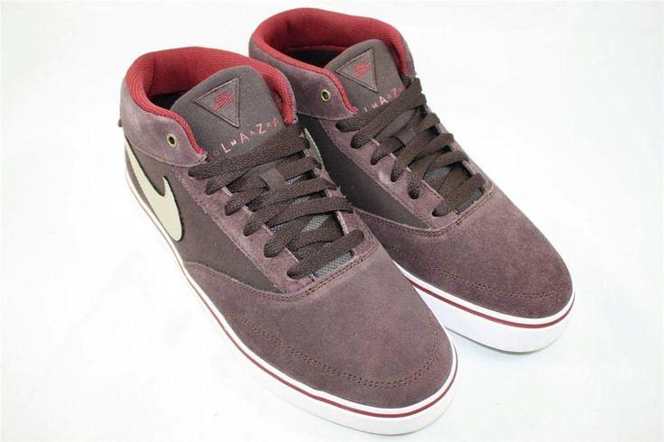 Brand New Nike Omar Salazar LR Size 9.5 Boulder Khaki 472660 221 #Nike #AthleticSneakers