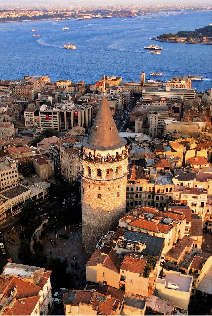 Galata Tower in istanbul was the view from my airbnb rental