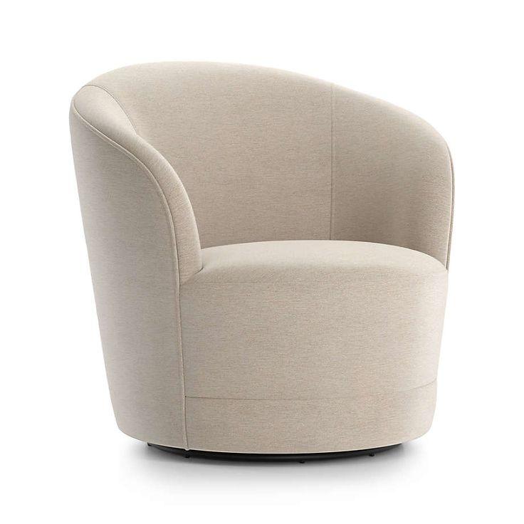 Infiniti swivel chair crate and barrel in 2020
