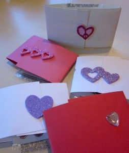 easy, super-cute homemade valentines with tattoos!