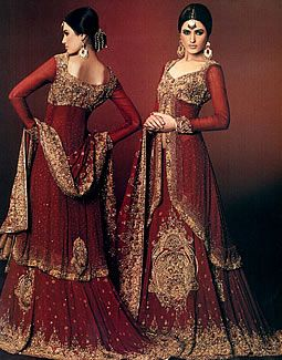 """Ruby Wine Ajram""  I wish I'd had this to wear at the reception! Same colors at the sari I was wearing for the wedding, so it would've been a nice compliment to the other. :D"