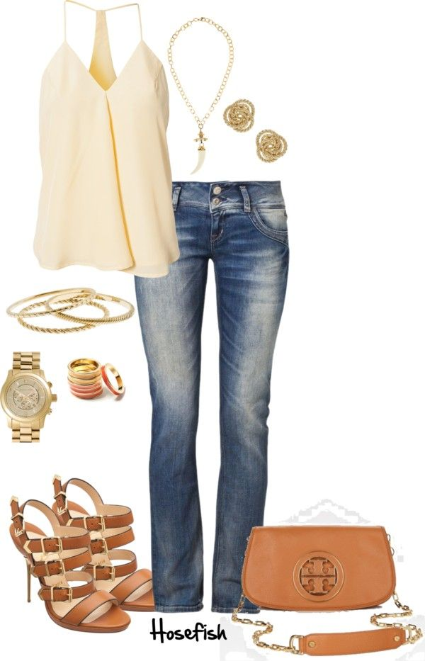"""Girl's Night Out"" by hosefish ❤ liked on Polyvore"
