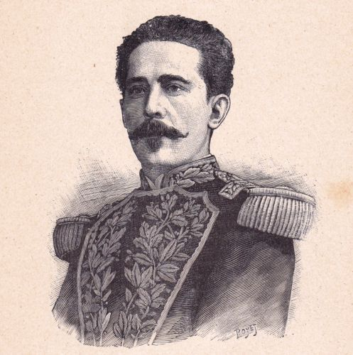 Portrait-XIXe-Maximo-Tajes-Canelones-Presidente-de-la-Republica-de-Uruguay