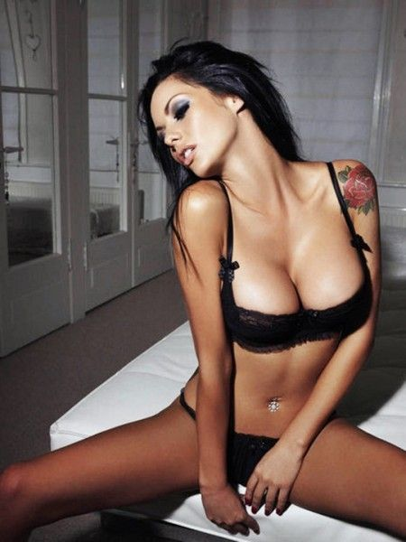 This is UK actress and model Jessica Jane Clement from an April 2011 Nuts magazine lingerie shoot, these are originals that didn't make the magazine. Description from websugar.com. I searched for this on bing.com/images