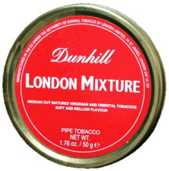London Mixture Dunhill Pipe Tobacco Tin