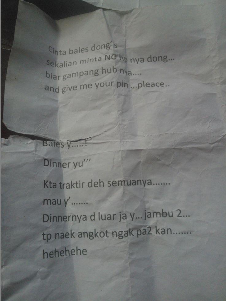 "Surat Cinta untuk ""CInta"" dari Tetangga Sebelah Kosan"