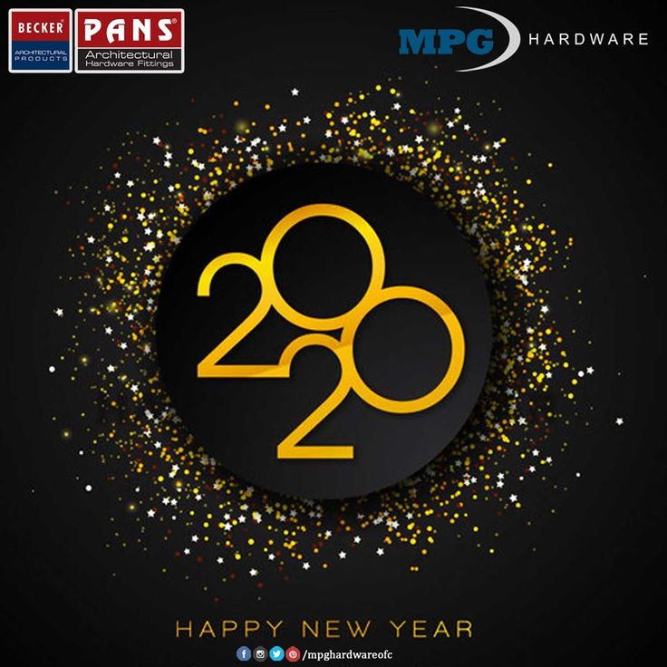 Happy New Year 2020 🎊🎉🎇 HappyNewYear2020 MPG Hardware