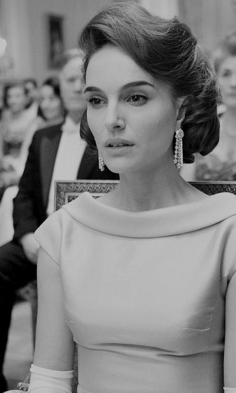 Natalie Portman as Jacqueline Kennedy in Jackie (2016) dir. Pablo Larraín.