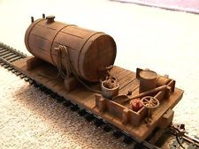 WORK TRAIN  WATER CAR .. ON30 .. BUILT-UP   SCRATCH BUILT 18 FT.