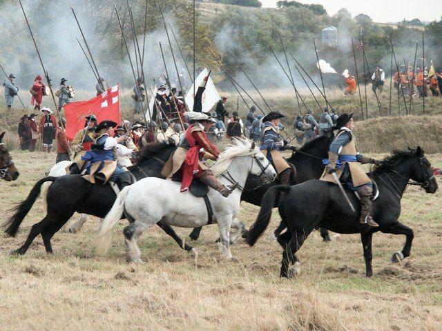 Re-enactors:  Siege of Bolingbroke Castle