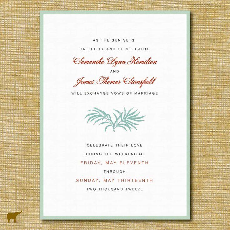 Best 25+ Wedding invitation wording templates ideas on Pinterest ...