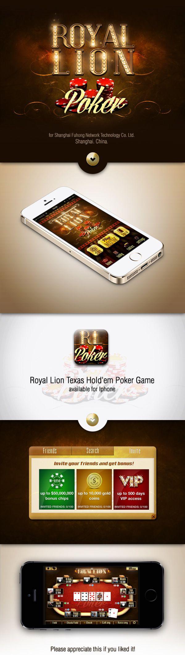 Royal Lion Poker Game on Behance