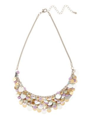 Sequin Scales Necklace