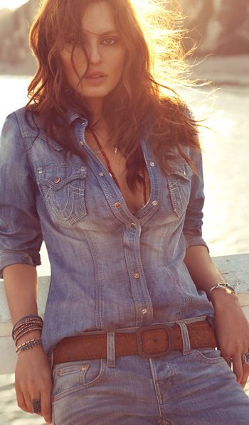 True Religion Brand Jeans 2013 Spring Summer - via @goldduster33 - #CowgirlChic